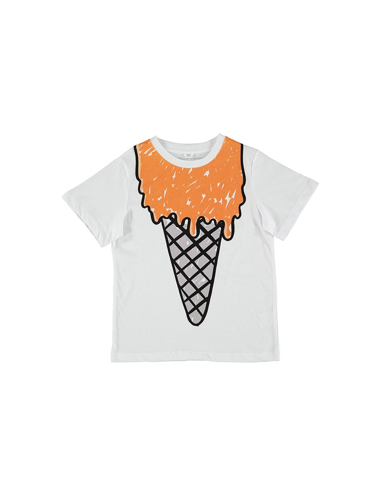 ARLO TEE W/ORANGE ICECREAM PR