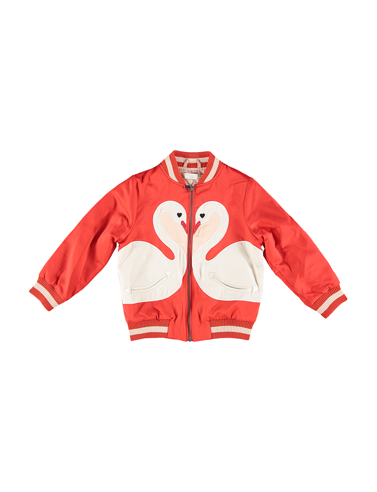WILLOW BOMBER JKT PATCH SWANS