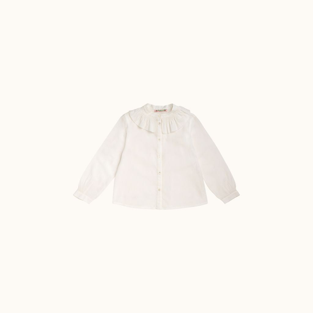 MARGA BLOUSE MILK WHITE