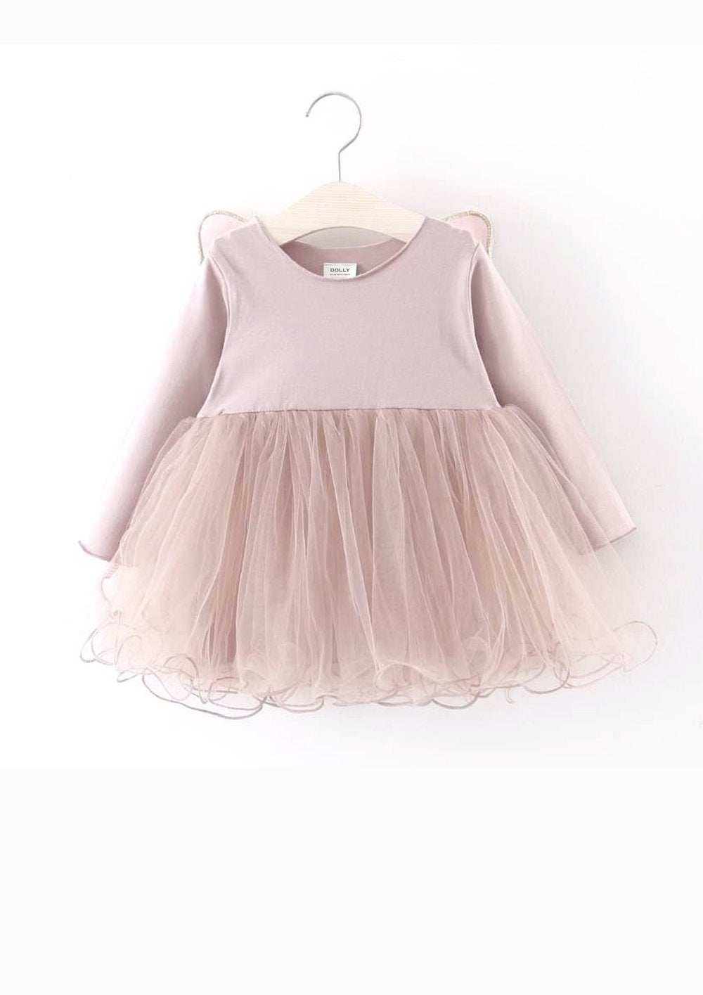 DOLLY by Le Petit Tom BUTTERFLY WINGS TUTU DRESS pink