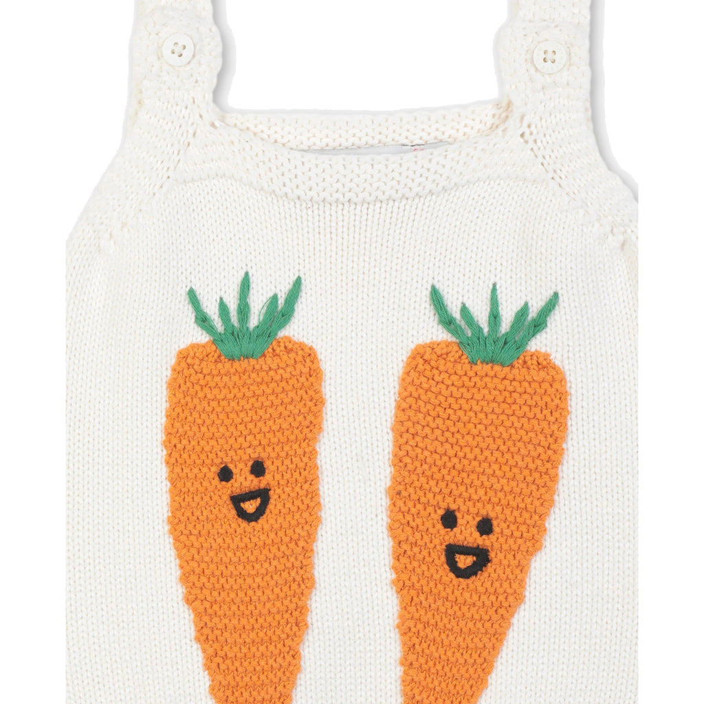 CARROT KNIT ALL IN ONE