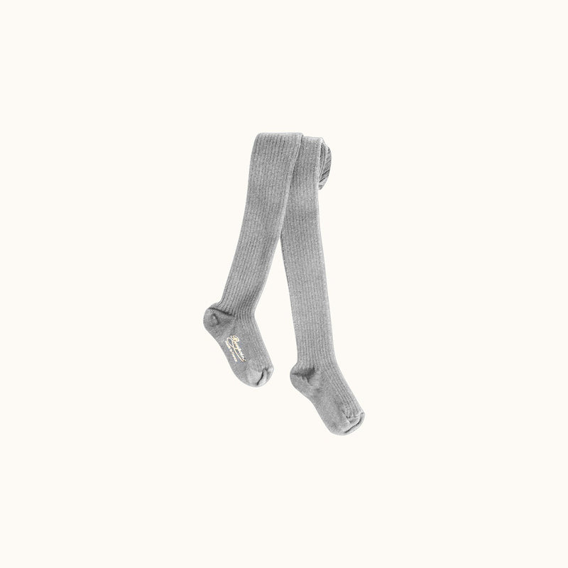 TIGHTS HEATHERED GRAY