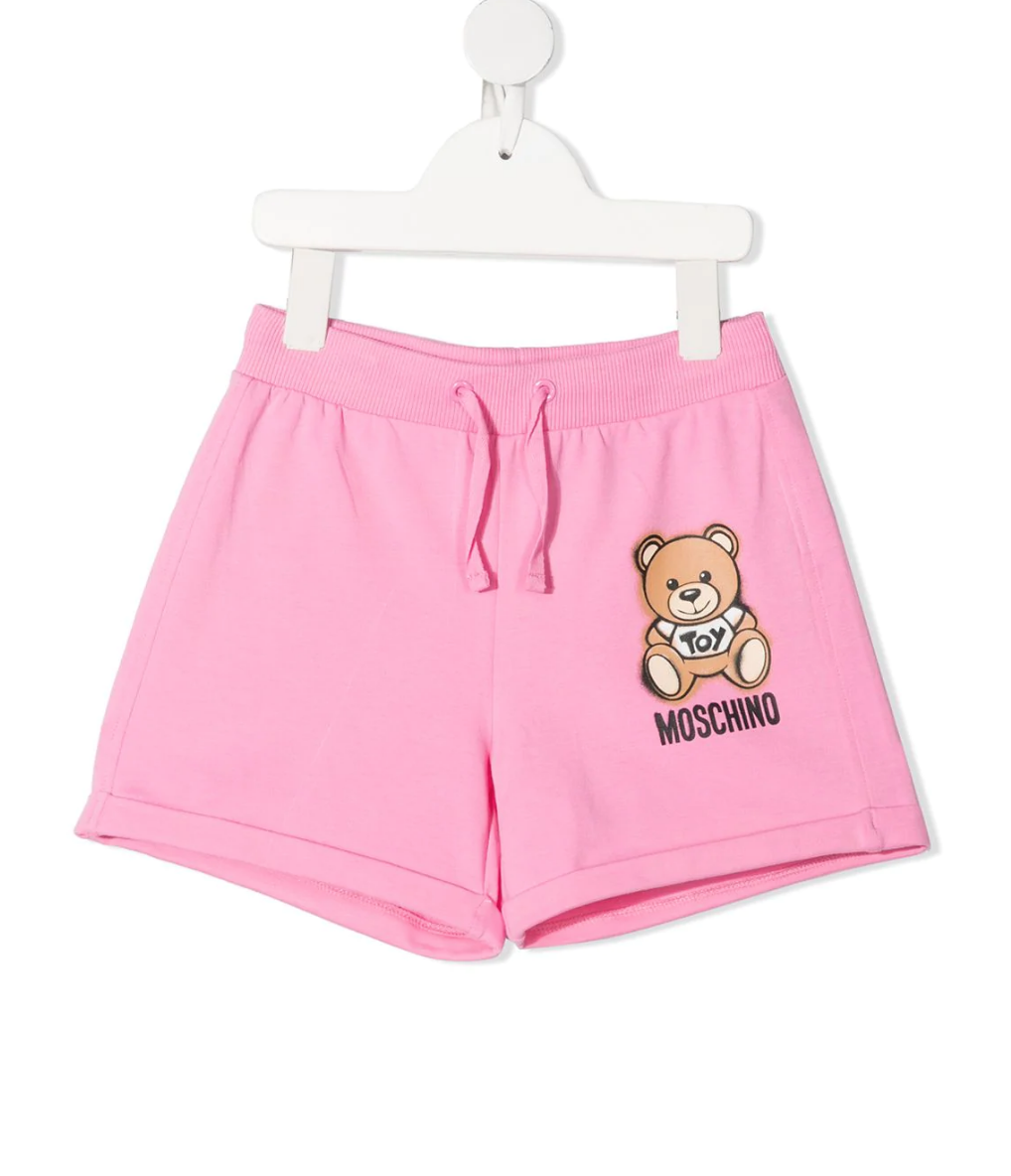 Moschino Kids Toy Bear shorts