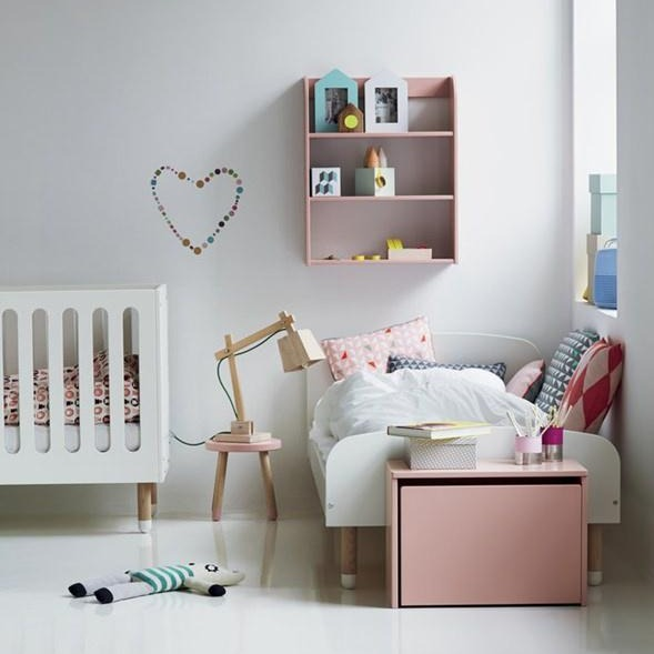 Single bed PLAY White