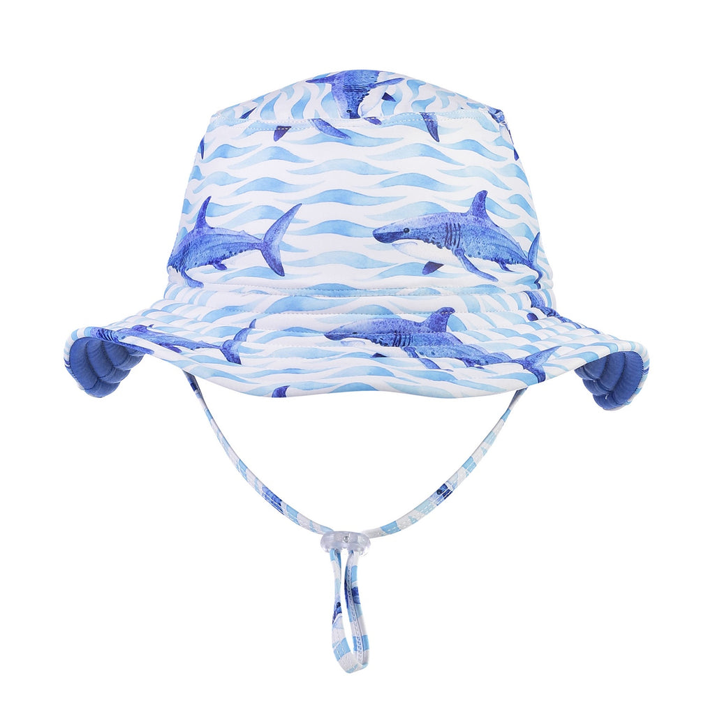 School of Sharks Reversible Bucket Hat