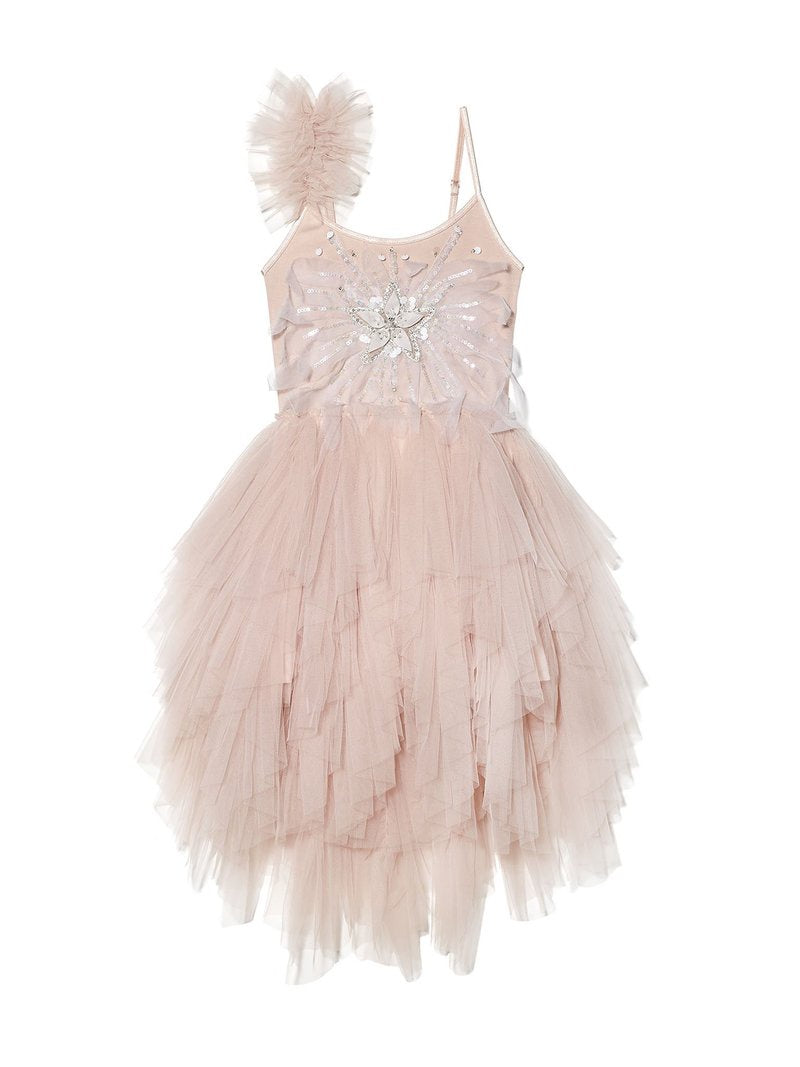 Shooting Star Tutu Dress-Blush