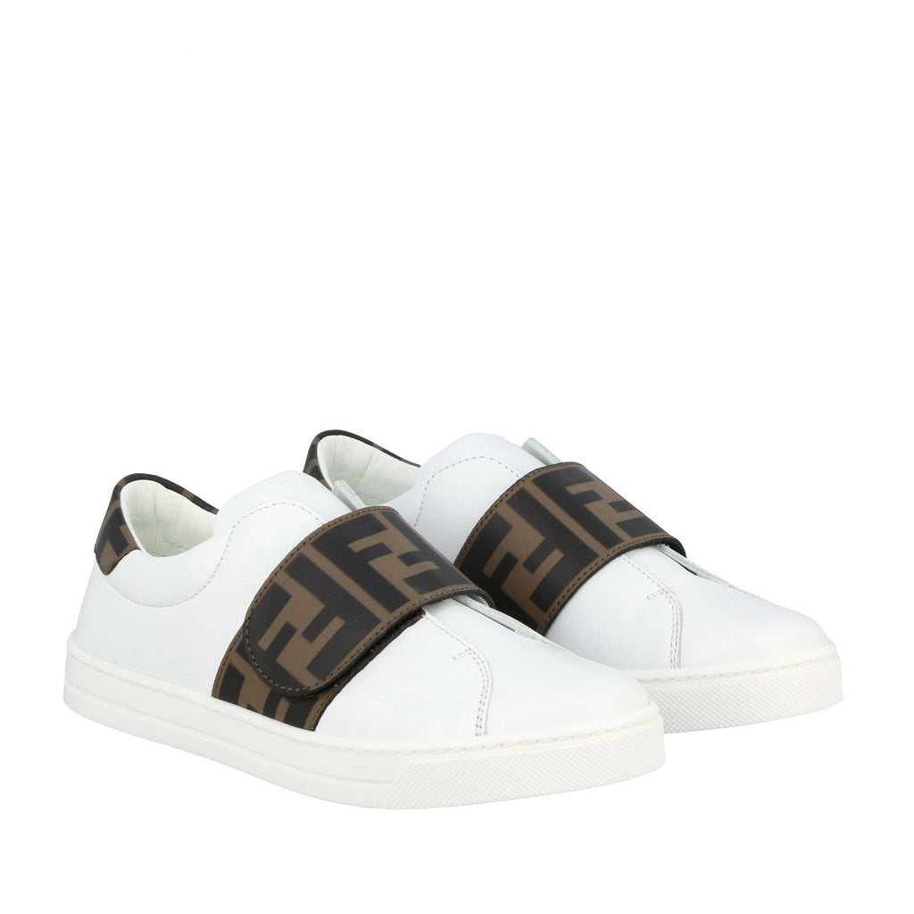 Monogram touch-strap Sneakers