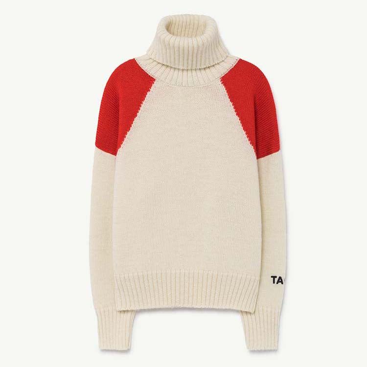 CONDOR KIDS SWEATER RED TAO