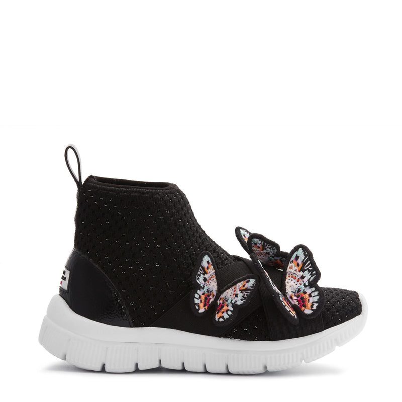 Maisy Sneaker Mini Black & Rainbow