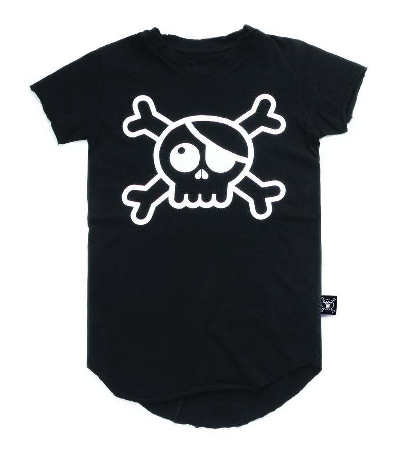 RAW SKULL T-SHIRT BLACK