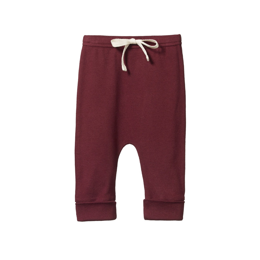 DRAWSTRING PANTS ELDERBERRY