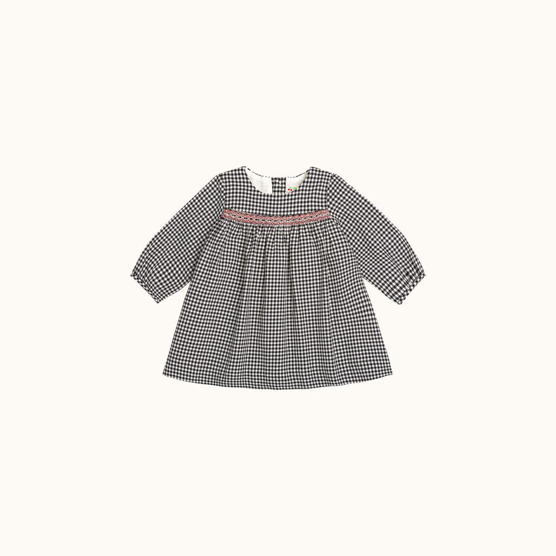 FÉLICIE BABY GIRLS' DRESS BLACK