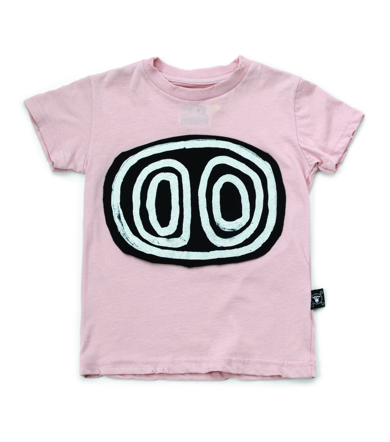 TRIBAL EYES T-SHIRT POWDER PINK