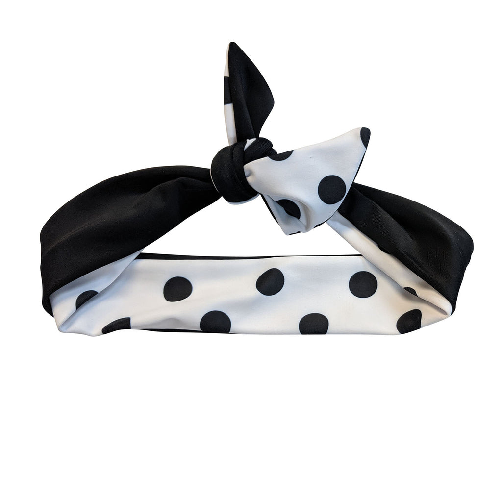 Black & White Spot Headband