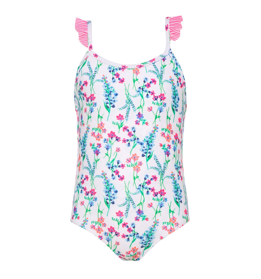 Frill Strap Swimsuit