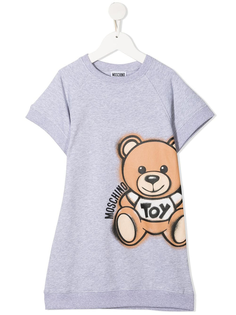 Moschino Kids Toy Bear sweat dress