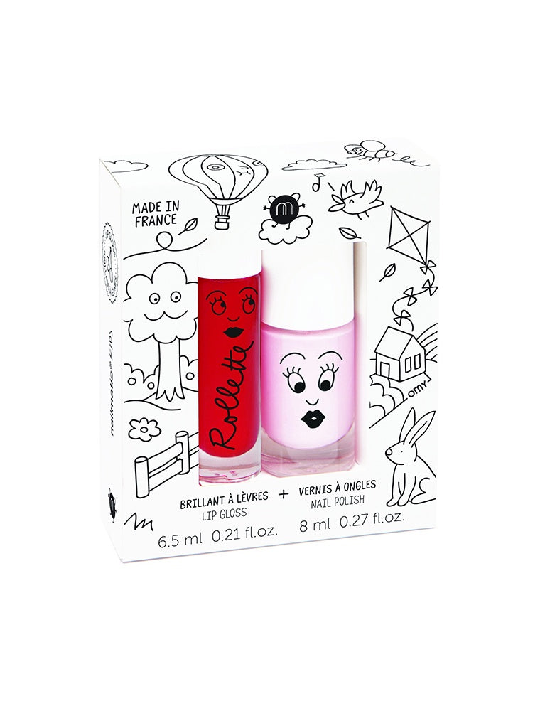 Rollette Nail polish Duo Set - Kids Cottage