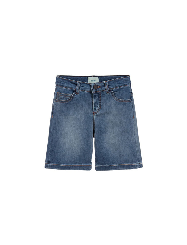 BERMUDA DENIM STRECTCH SHORT