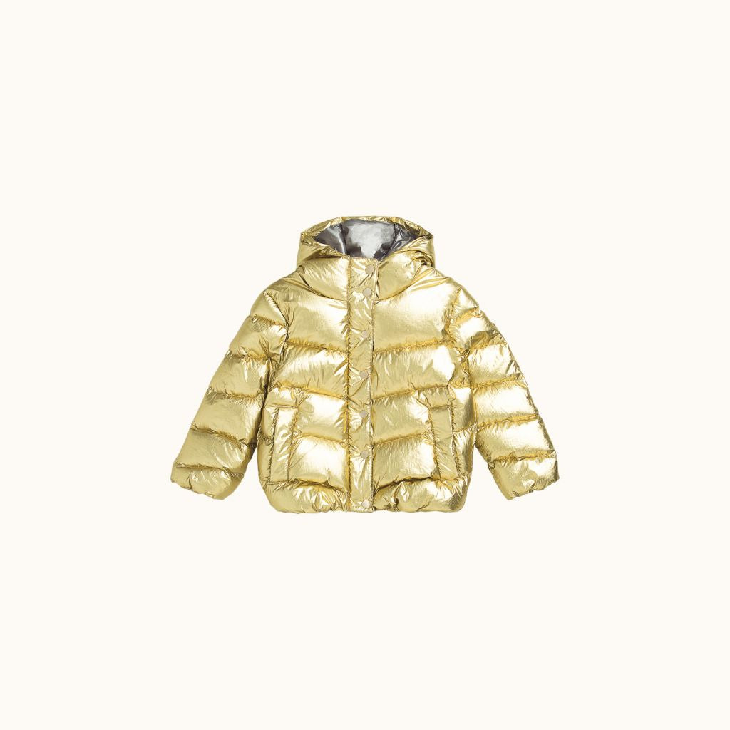 MOON PUFFER JACKET GOLD