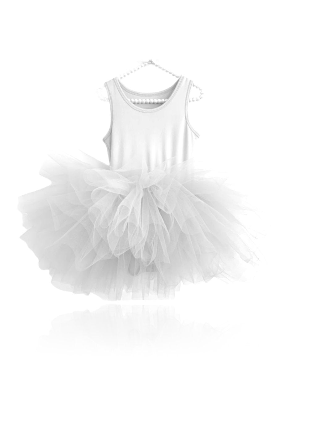 DOLLY BY LE PETIT TOM ® TIMELESS TUTU DRESS WHITE