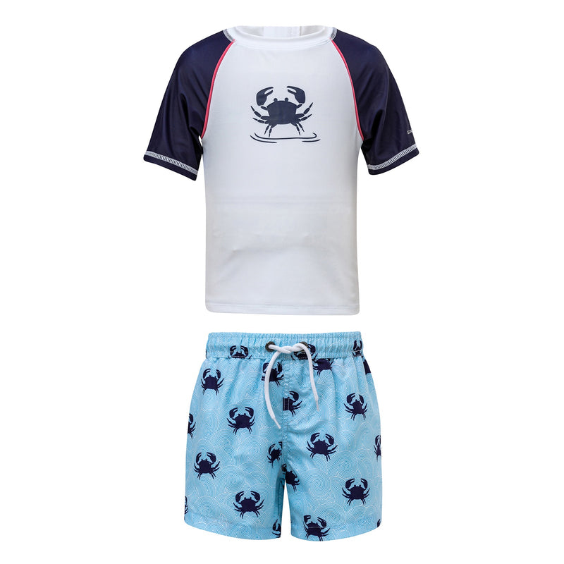 Blue Crab Baby SS Set