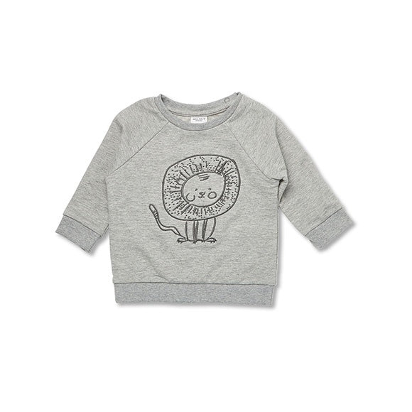 JACK JUMPER Leo Lion Embroidery