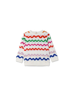 BETTY BABY SWEATER WIGGLE TILE