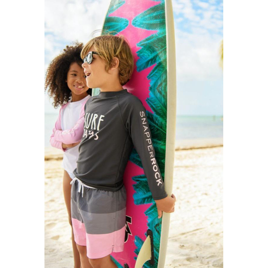 Surf Days LS Rash Top