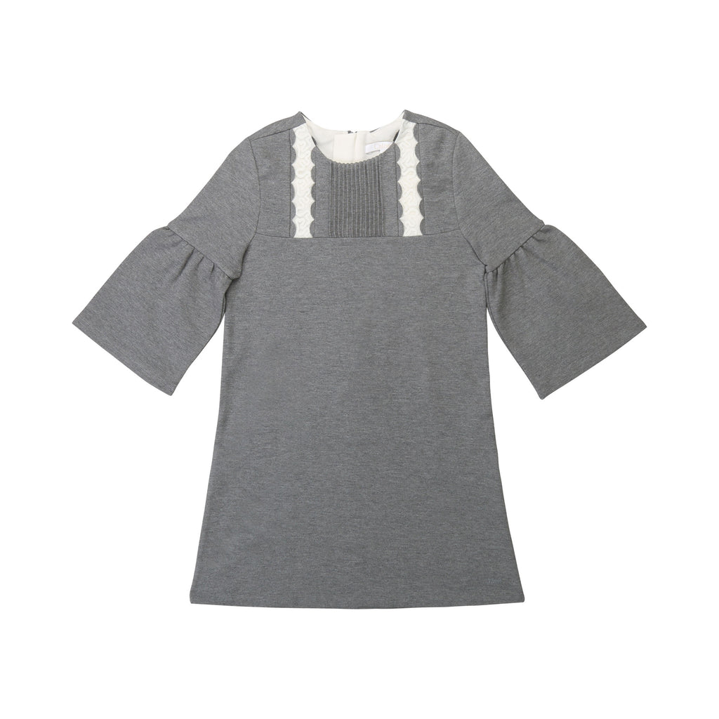 LONG SLEEVED DRESS GREY