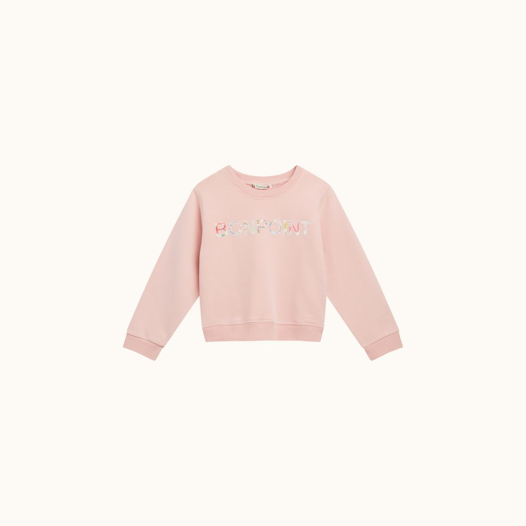 SWEATSHIRT BLUSH PINK