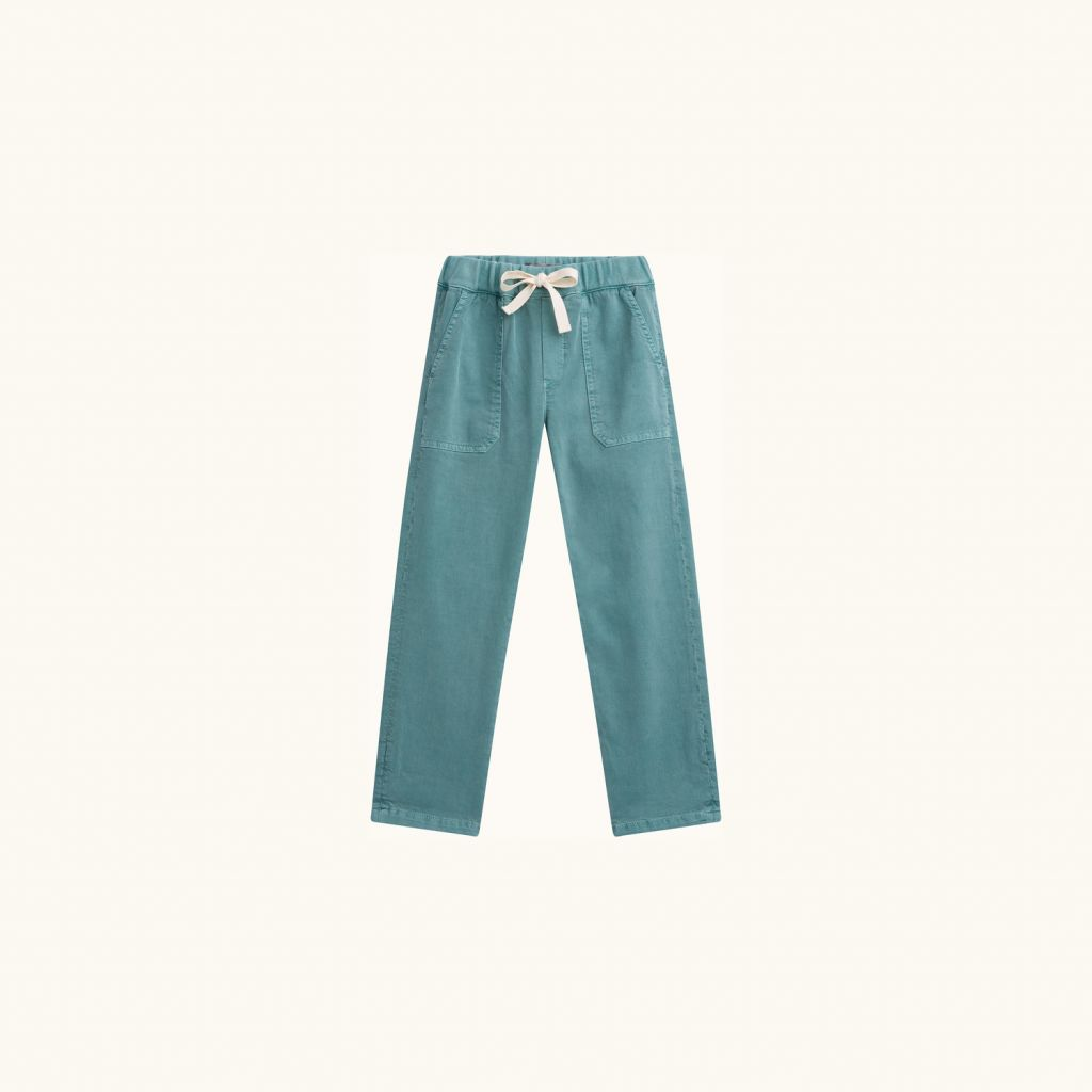 GREGORY PANTS EMERALD GREEN