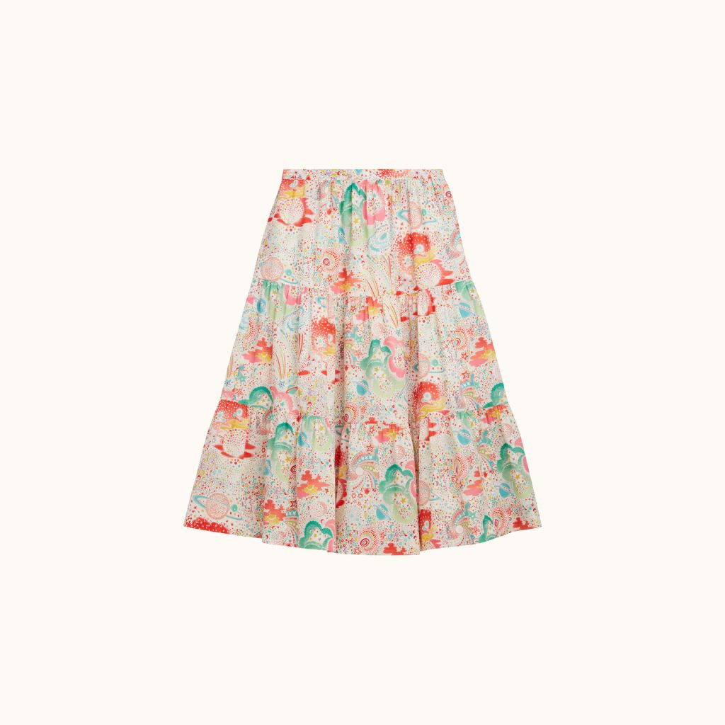 GIRLS' LISEY LIBERTY SKIRT MULTICOLOR