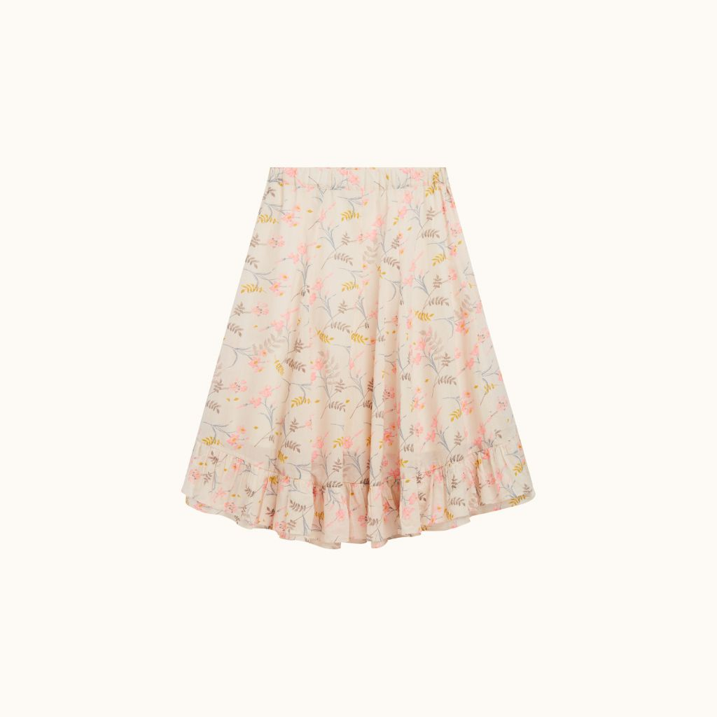 GIRLS' NALA SKIRT NATURAL WHITE
