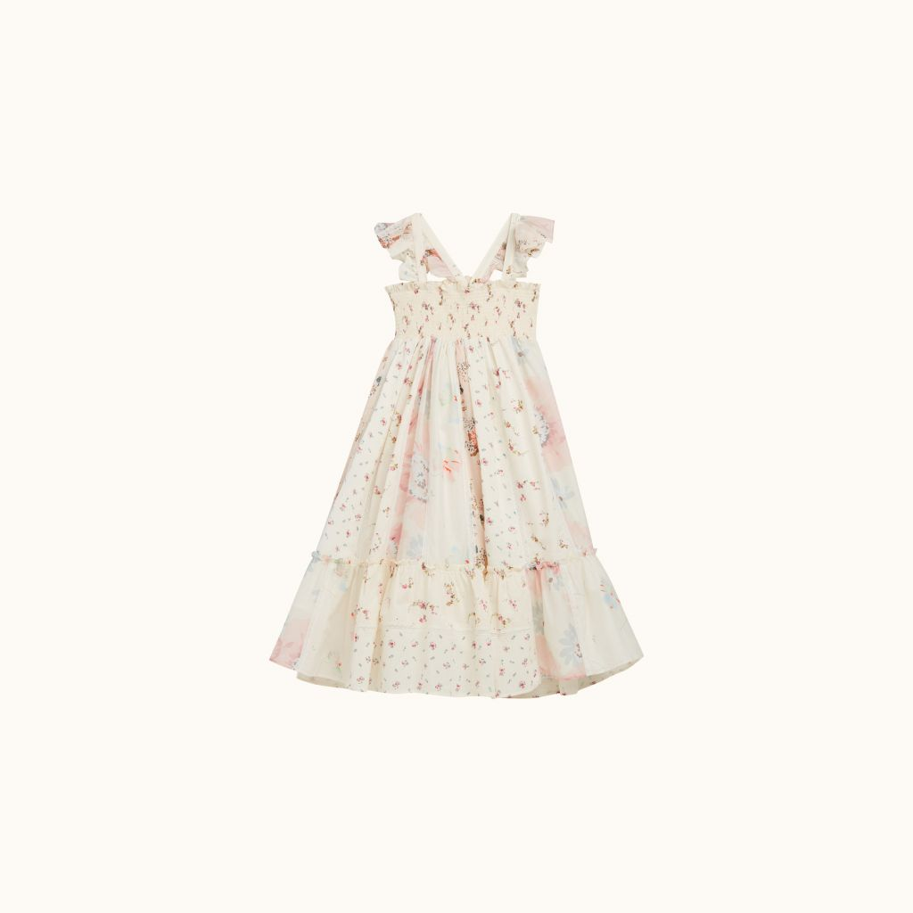 GIRLS' NESTINA DRESS PINK