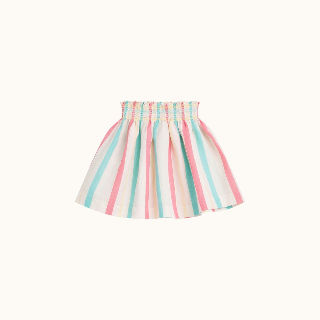GIRLS' NOUMÉA SKIRT MULTICOLORED