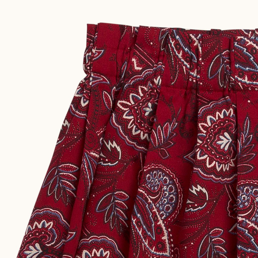 GIRLS' MORGAN SKIRT RED