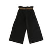 GIRLS BLACK JERSEY TROUSERS