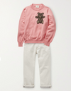 Fendi Girls Pink Sweater