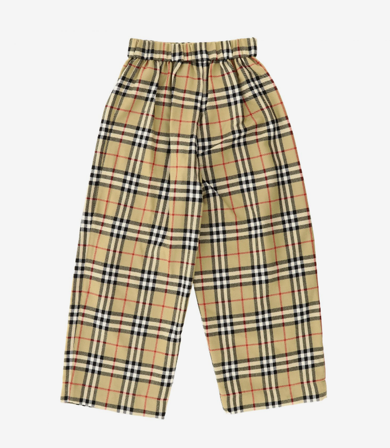 Burberry Wool Pants With Buttons