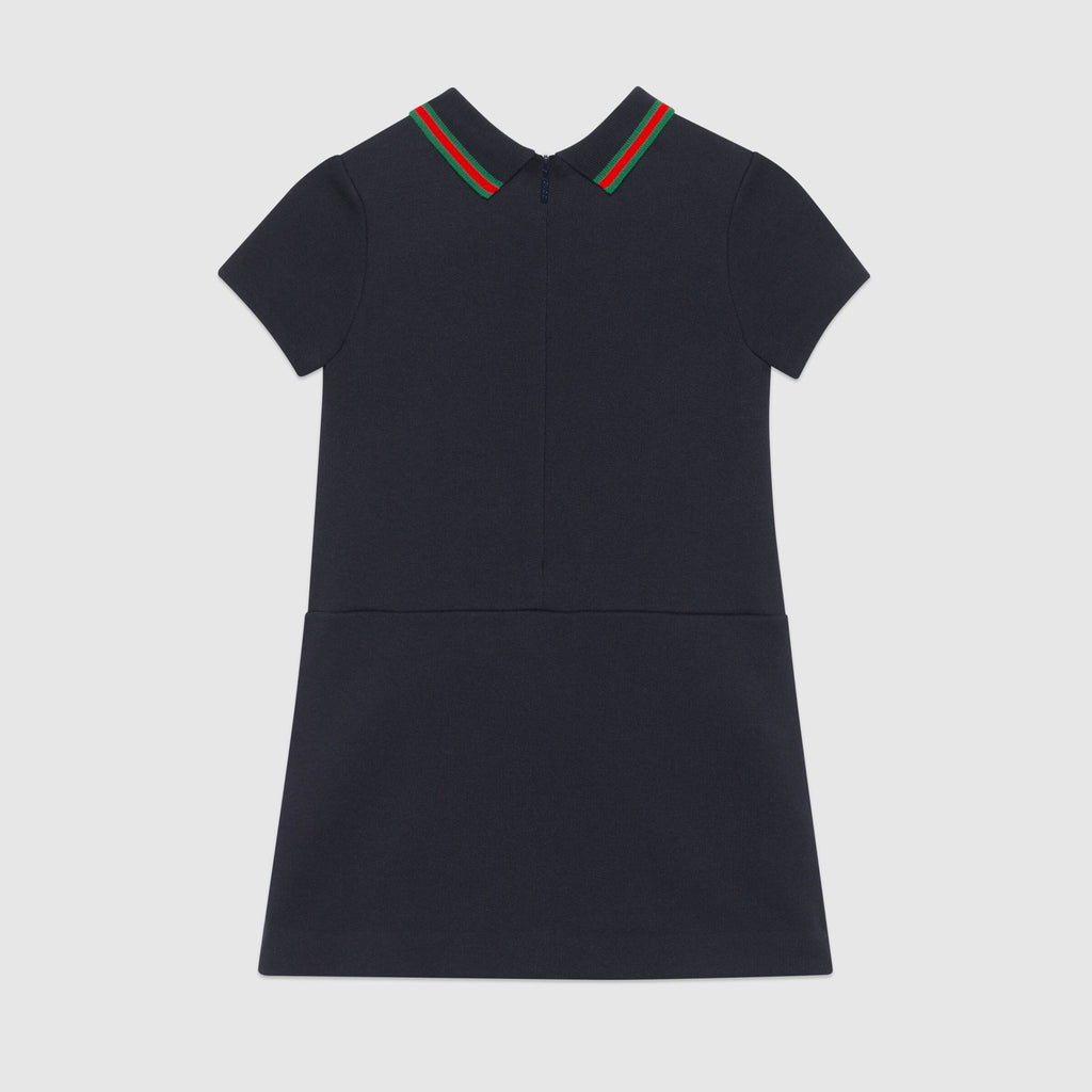 Gucci cotton dress with Interlocking G