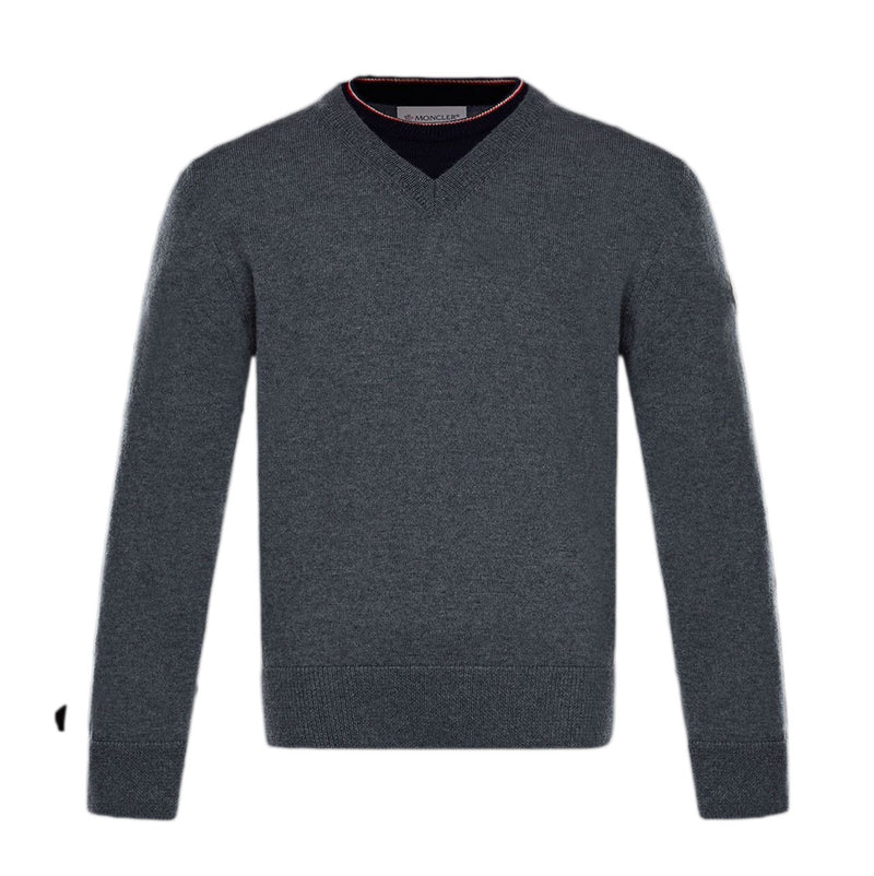 MAGLIA TRICOT KNITTED ROUND NECK JUMPER