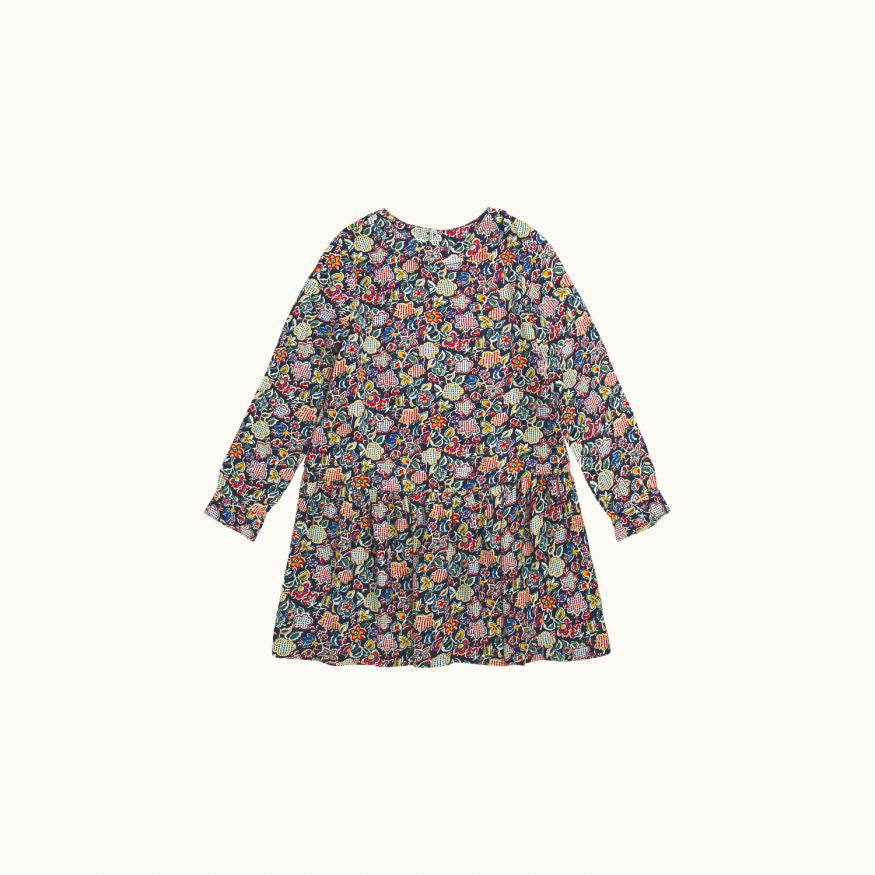 GIRLS' MÉLUSINE DRESS NAVY