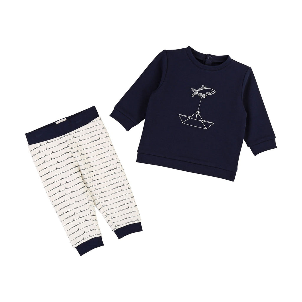 SWEATER+TROUSERS SET