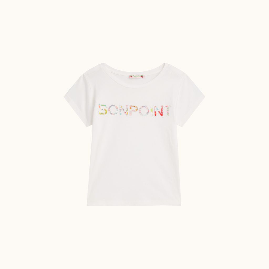 SHORT-SLEEVED T-SHIRT MILK WHITE