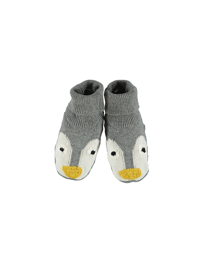 FLOPSY PENGUIN KNIT BOOTIES