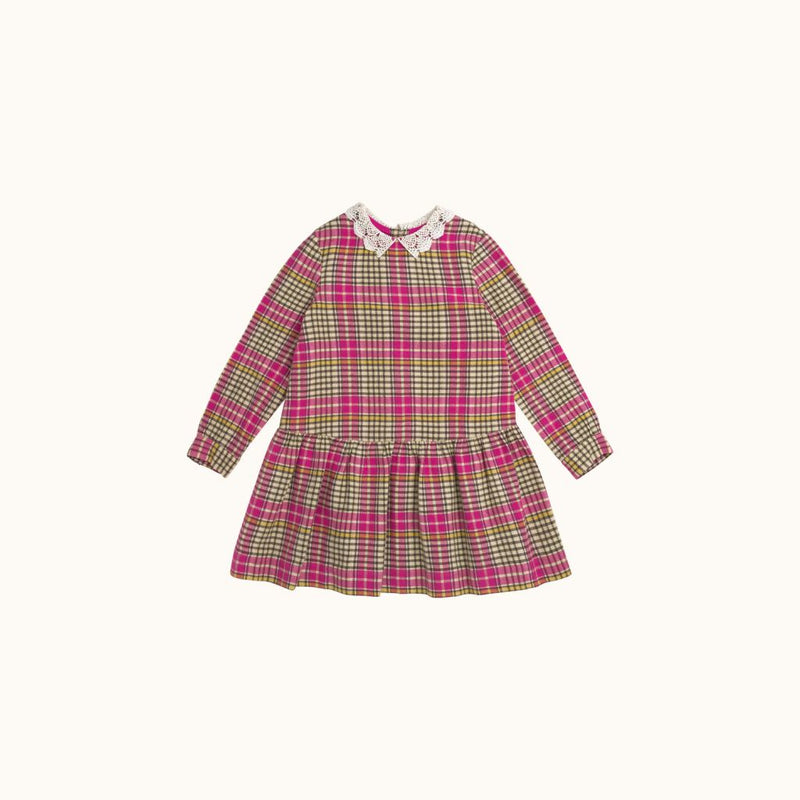 GIRLS' MARIELLE DRESS FUCHSIA PINK