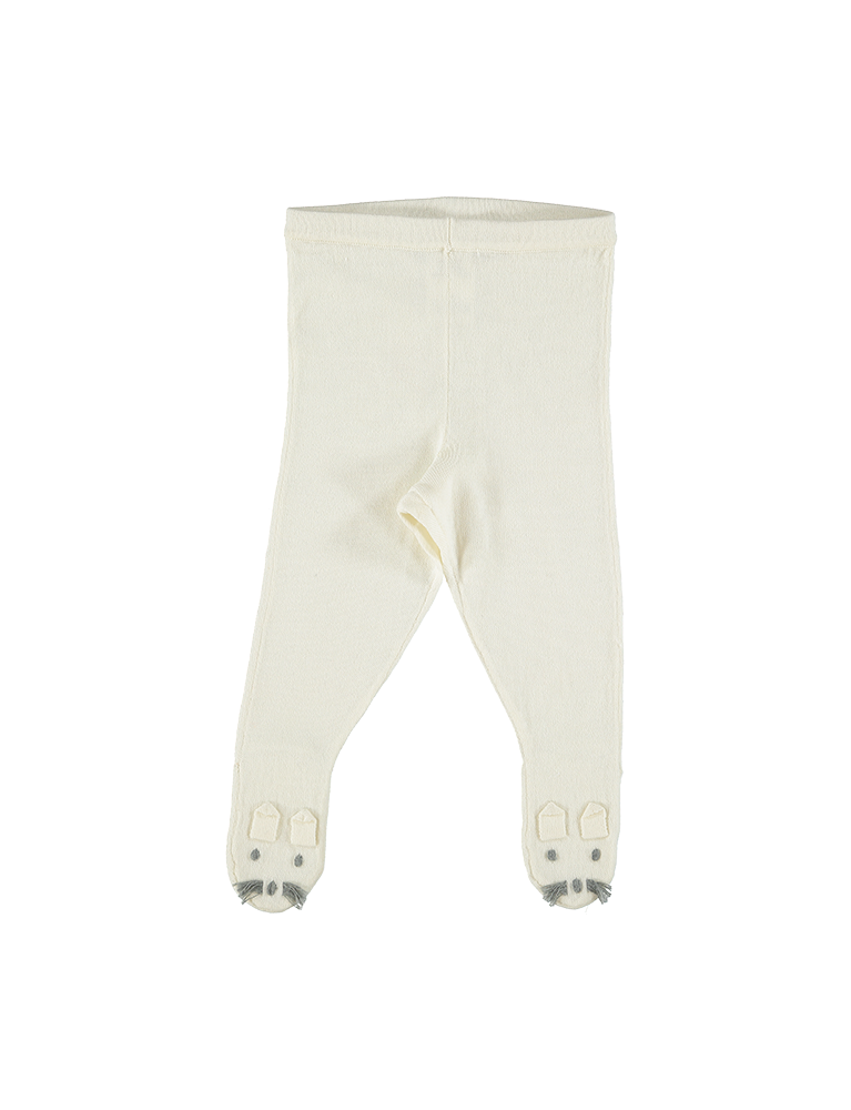 SNOWFLAKE KNIT TROUSER