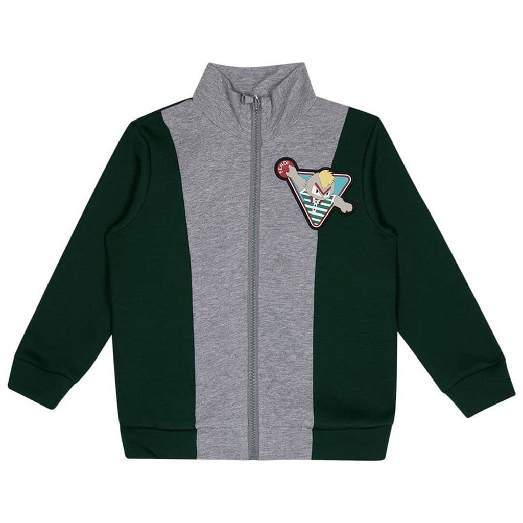 BOYS GREEN TRACKSUIT