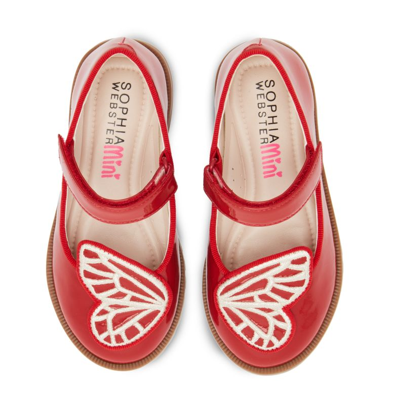Bibi Butterfly School Shoe