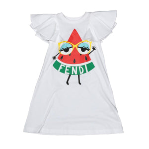 Watermelon Dress in Jersey with logo